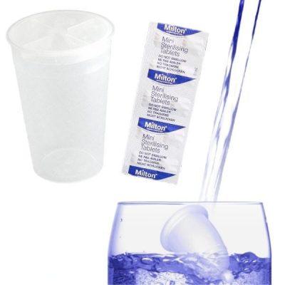 MeLuna sterilizáló csomag